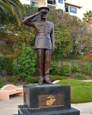 Marine Corps Memorial, San Clemente, CA