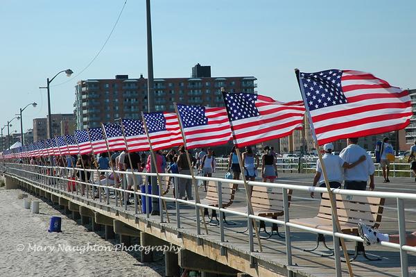 September 11 Remembrance, 2005, Long Beach, NY