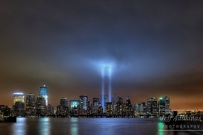 9/11 Tribute in Lights 1