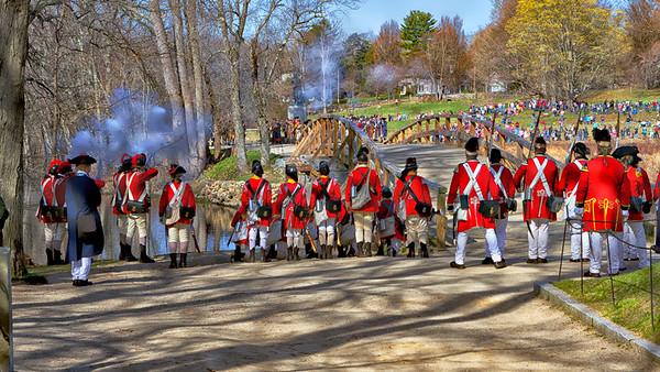 Concord MA, Patriots Day 2016