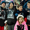 Axel Erickson, Lincoln Levesque, Chase Levesque, Andrew LaRosee and Gabriella LaRosee, all of Wilmington arrive at North Station for the Patriots Super Bowl parade on Tuesday, February 7, 2017. SENTINEL & ENTERPRISE / Ashley Green