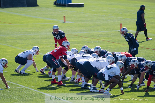 Patriots Training Camp - Day 2