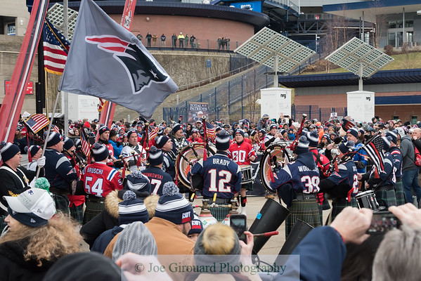 New England Patriots Super Bowl LII Send-Off Rally