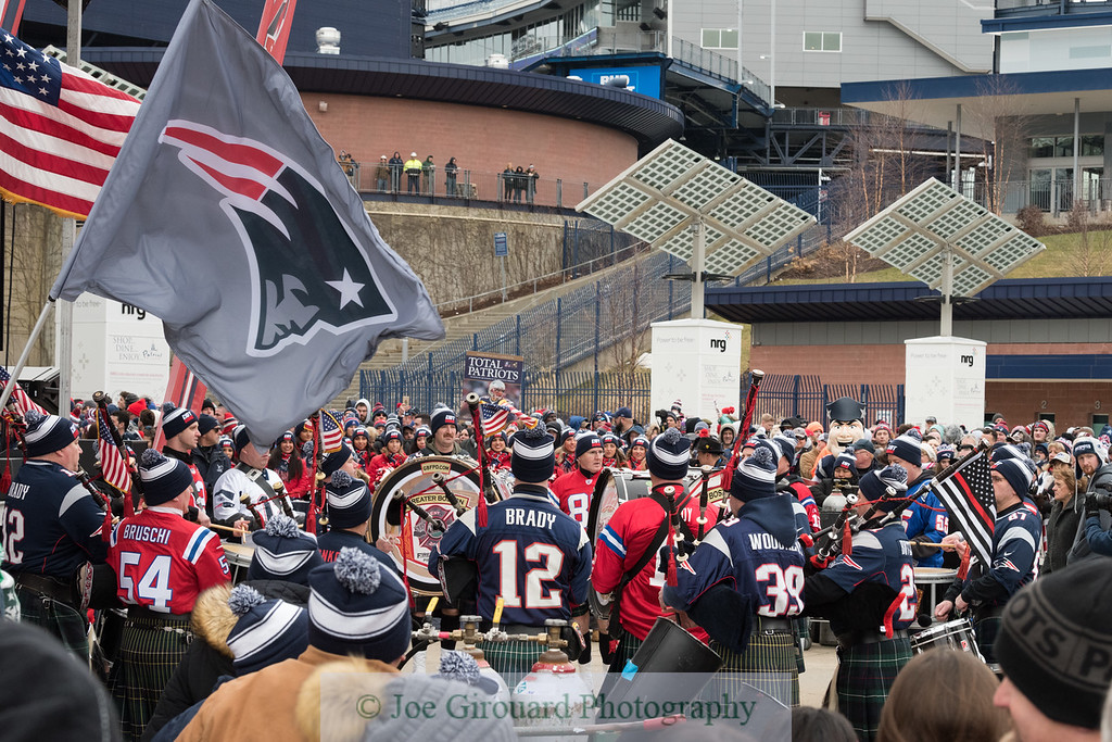 New England Patriots Super Bowl LII Send-Off Rally