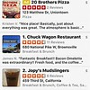 Yelp recommended the Chuck Wagon restaurant.