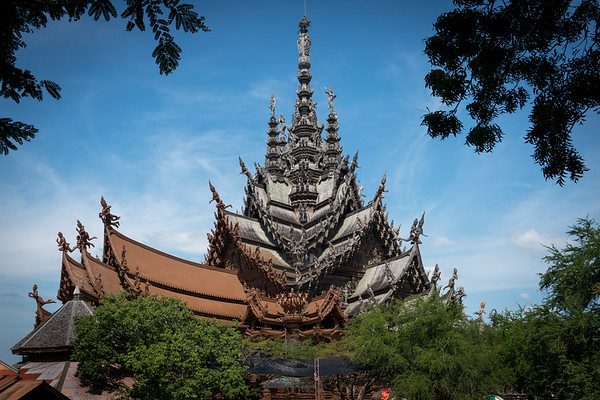Sanctuary of Truth at Pattaya, Thailand