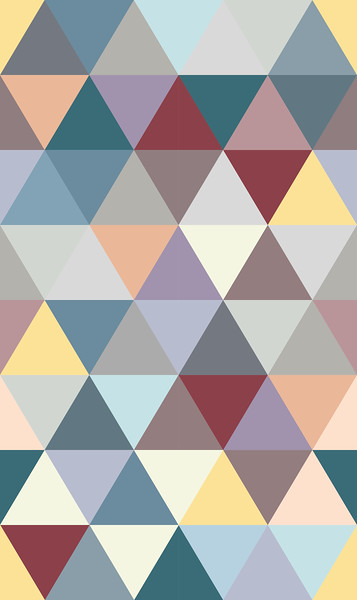 Triangle 75 37,5_18_Petrol-Red