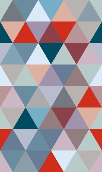 Triangle 75 37,5_20_Turquoise-Red