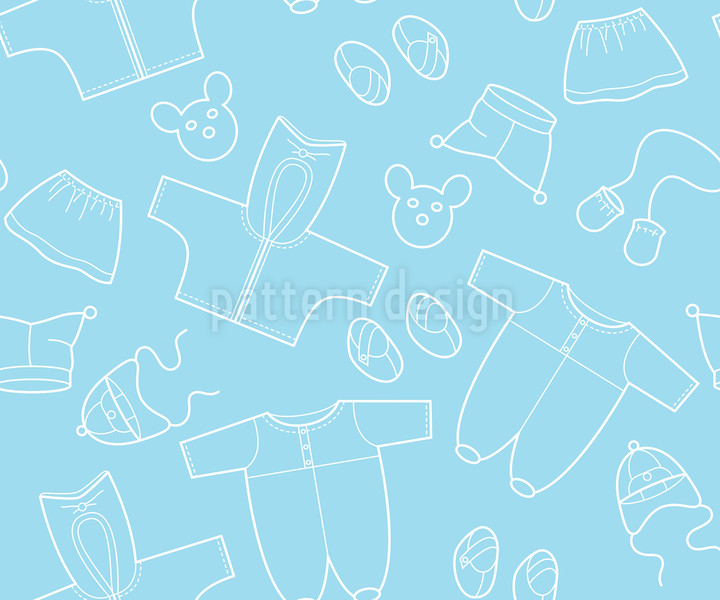 1038-Babysachen-Blau