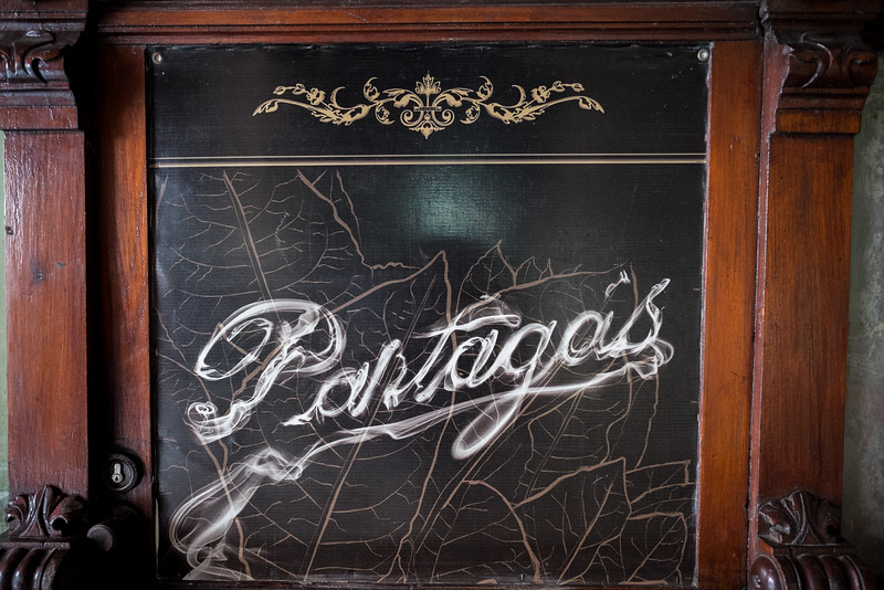 Partagas Sign in Smoke