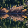 Reflection on Elk Lake