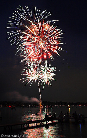 Fireworks Orchard Lake Michigan #17