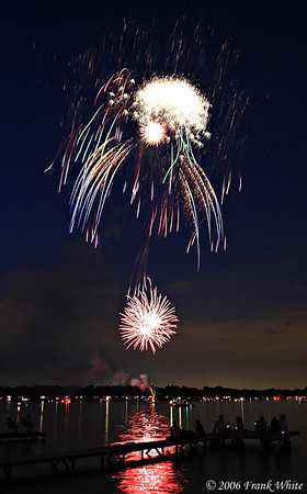 Fireworks Orchard Lake Michigan #19