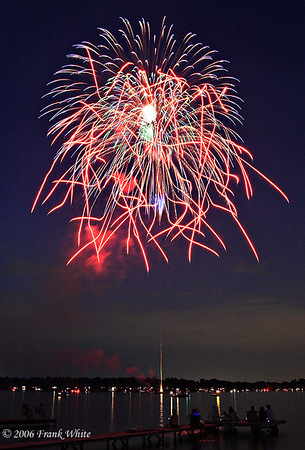 Fireworks Orchard Lake Michigan #18