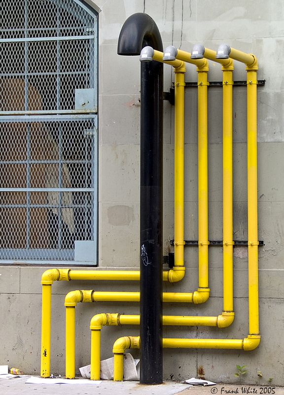 Pipes, New York City, 2002.
