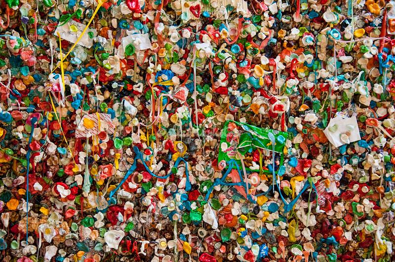 Bubblegum Wall, Pike Place Market, Seattle