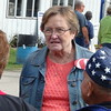 Patty Judge At Clay County Fair In Spencer, IA