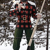 Image of Paul Bunyan statue made on Thursday, jan 22, 2009.<br /> (Bangor Daily News/Kevin Bennett)