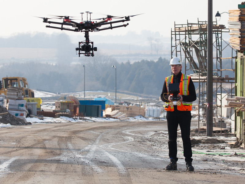 Paul on Low Rise RPAS / Drone Ops with M-600 PRO