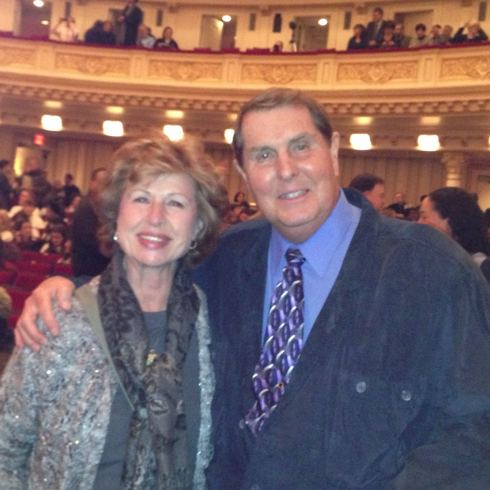 Tom and Betty at the Carnegie