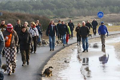 VVN Winterwandeling Noordwijk 2010