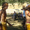 Paul III doing Miwok dancing age 16.