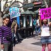 Free Hugs in Santa Monics with Couchsurfers.com