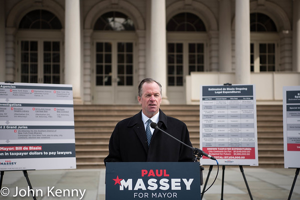Paul Massey press conference at City Hall 2/21/17