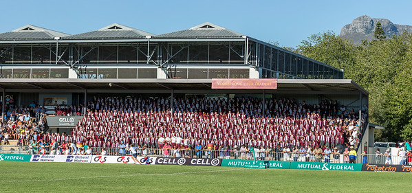 Supporters at PRG 150 Rugby Dag