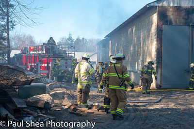 2 Alarm Commercial Fire - Purgatory Rd, Northbridge, MA - 2/9/19