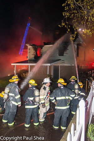 2 Alarm Dwelling Fire - Trowbridge Circuit, Worcester, MA - 4/25/20