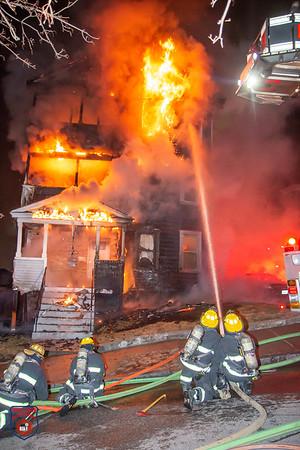 2 Alarm Residential Fire - Harlem St, Worcester, MA - 3/19/20