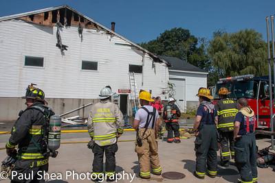 2nd Alarm Structure Fire - Rutland, MA - 8/24/18