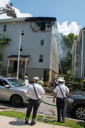 2nd Alarm Structure Fire 39 Birch St Worcester, MA 7/25/19
