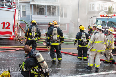 4th alarm structure fire Worcester, MA Harrison Street 8/15/19