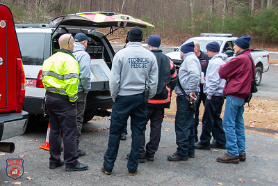 Missing Person Search - Howe State Park, Spencer, MA - 1/13/20