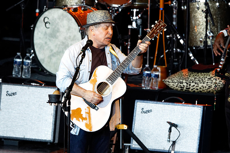 . Paul Simon  live at Meadowbrook on 6-19-2016. Photo credit: Ken Settle
