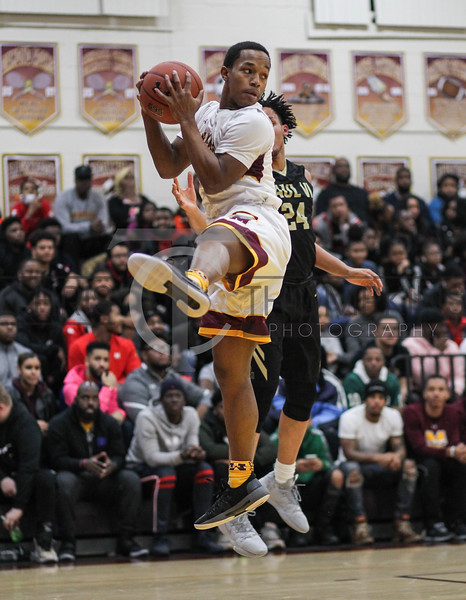 January 4, 2019: WCAC HS Boys Basketball action between Paul VI and McNamara in Forestville. Photo by: Chris Thompkins/PGsportsfan