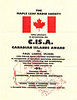 Canadian Islands Award 1996 Polar Bear Express Dxpedition to Paul Lantz VE3KBL for putting 5 islands on the air August 4 to 7, 1996. Expedition Participation Certificate.