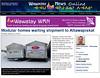 Wawatay News 2012 January 9th showing Paul Lantz picture of homes for Attawapiskat in Moosonee.