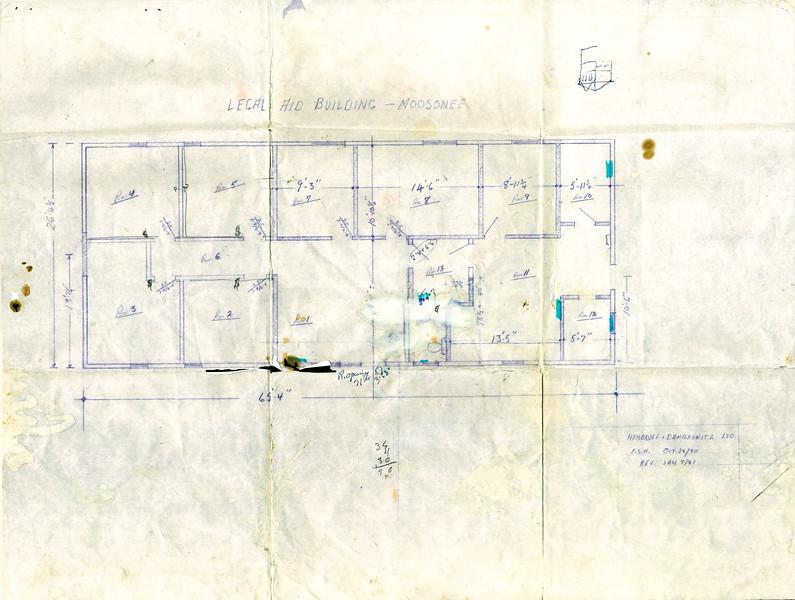 Floor plan not as built 1981 photmerged
