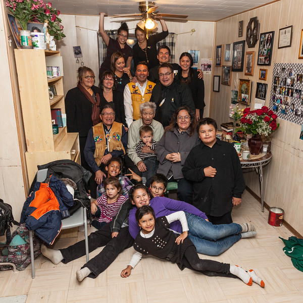 Visit to Jaban's house after feast.