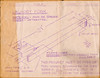 Industrial Arts Notebook - Grade Seven 1964-65 - Laundry fork drawing