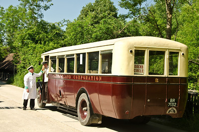 1929 Leyland Lion BR 7132 at Amberley