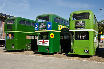 RT3254, RT4779 and RT604 in the station car park, Amersham