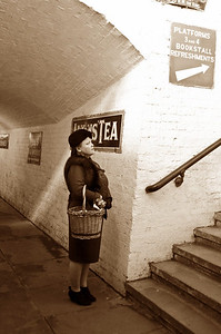 In the subway at Horsted Keynes