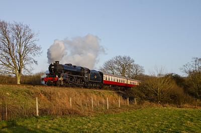 45231 at the foot of Freshfield bank