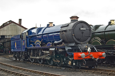 The star of the show, 6023 'King Edward II'