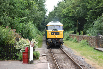 47292 approaching Summerseat