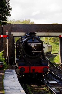 8274 arriving at Winchcombe